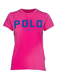 Polo Cotton Tee - ACCENT PINK