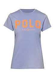 Polo Cotton Tee - DRESS SHIRT BLUE