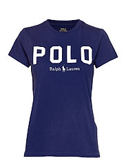 Polo Cotton Tee - HOLIDAY NAVY