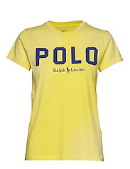 Polo Cotton Tee - LEMON CRUSH