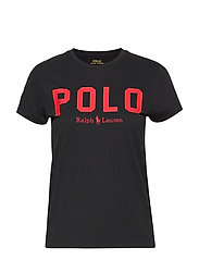 Polo Cotton Tee - POLO BLACK
