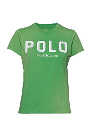 Polo Cotton Tee - TILLER GREEN