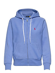 Fleece Full-Zip Hoodie - HARBOR ISLAND BLU
