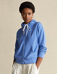 Polo Ralph Lauren - Fleece Full-Zip Hoodie - hættetrøjer - harbor island blu - 0