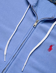 Polo Ralph Lauren - Fleece Full-Zip Hoodie - hættetrøjer - harbor island blu - 3