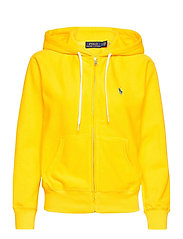 Fleece Full-Zip Hoodie - UNIVERSITY YELLOW