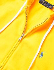 Polo Ralph Lauren - Fleece Full-Zip Hoodie - hættetrøjer - university yellow - 3