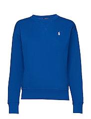 Fleece Pullover - HERITAGE BLUE