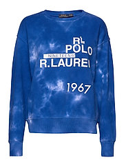 Logo Tie-Dye Sweatshirt - SPA ROYAL