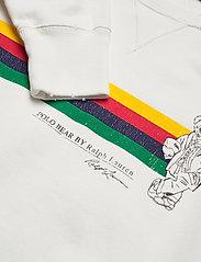 Polo Ralph Lauren - Fleece Polo Bear Pullover - sweatshirts - deckwash white - 2