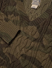 Polo Ralph Lauren - Camo Cable-Knit Sweater - jumpers - camo - 2