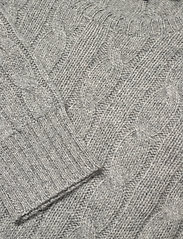 Polo Ralph Lauren - Cable-Knit Cashmere Sweater - jumpers - battalion grey he - 3