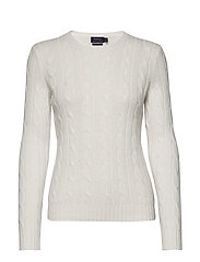 Cable-Knit Cashmere Sweater - CREAM