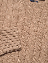 Polo Ralph Lauren - Cable-Knit Cashmere Sweater - swetry - luxury beige heat - 2
