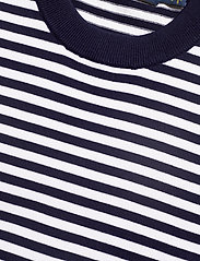 Polo Ralph Lauren - Striped Short-Sleeve Sweater - striped t-shirts - bright navy/white - 2