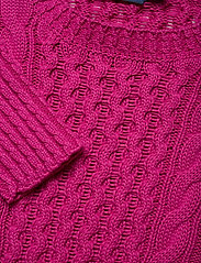 Polo Ralph Lauren - Cotton Cable-Knit Sweater - jumpers - accent pink - 2