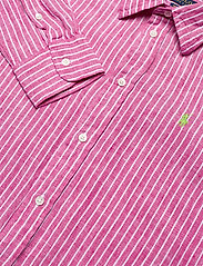 Polo Ralph Lauren - Relaxed Fit Linen Shirt - long-sleeved shirts - 542a pink/white - 2
