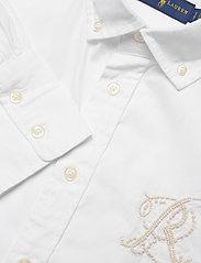 Polo Ralph Lauren - Cotton Oxford Shirt - long-sleeved shirts - bsr white - 2