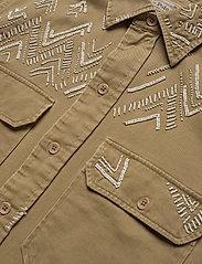 Polo Ralph Lauren - Beaded Twill Shirt - long-sleeved shirts - desert tan - 4