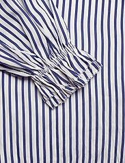 Polo Ralph Lauren - Striped Satin Shirt - bluzki z długimi rękawami - 523 white/blue - 3