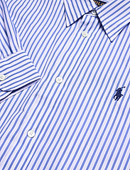 Polo Ralph Lauren - Striped Belted Shirtdress - everyday dresses - 784b white/blue - 3