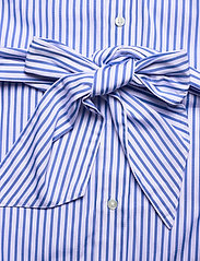 Polo Ralph Lauren - Striped Belted Shirtdress - everyday dresses - 784b white/blue - 5
