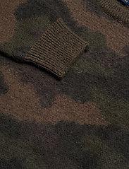 Polo Ralph Lauren - Camo-Print Wool Sweater - swetry - camo - 2