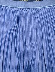 Polo Ralph Lauren - Pleated Midi Skirt - midinederdele - indigo sky - 3