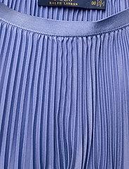 Polo Ralph Lauren - Pleated Midi Skirt - midinederdele - indigo sky - 2