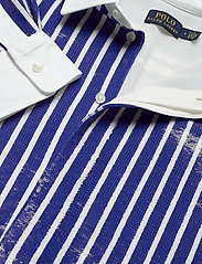 Polo Ralph Lauren - Sequined Stripe Shirt - long-sleeved shirts - blue/white - 2