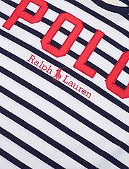 Polo Ralph Lauren - Striped Cotton Jersey Tee - logo t-shirts - white/cruise navy - 2