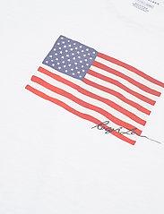 Polo Ralph Lauren - Flag Jersey Tee - t-shirts - white - 3