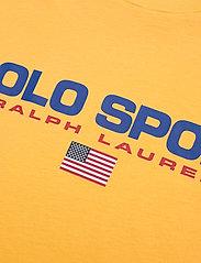 Polo Ralph Lauren - 26/1'S JERSEY-SSL-KNT - logo t-shirts - chrome yellow - 2