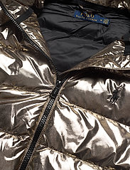 Polo Ralph Lauren - Metallic Down Jacket - padded jackets - olive pewter - 4