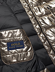 Polo Ralph Lauren - Metallic Down Jacket - padded jackets - olive pewter - 6