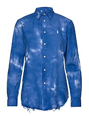 Tie-Dyed Oxford Shirt - SPA ROYAL