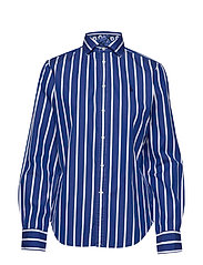 Striped Cotton Shirt - 513 BLUE/WHITE