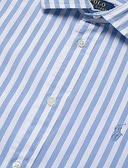 Polo Ralph Lauren - Striped Cotton Shirt - langærmede skjorter - 921a lt blue/whit - 3