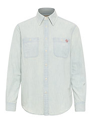 Polo Bear Chambray Shirt - CHAMBRAY