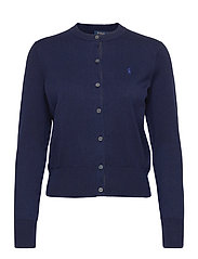 Cotton Cardigan - BRIGHT NAVY