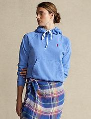 Polo Ralph Lauren - FEATHERWEIGHT FLC-LSL-KNT - hættetrøjer - harbor island blu - 0