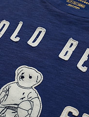 Polo Ralph Lauren - Polo Bear Patch Jersey Tee - logo t-shirts - royal navy - 2
