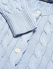 Polo Ralph Lauren - Cable-Knit Cotton Cardigan - cardigans - pale blue - 3