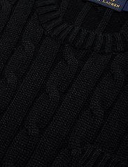 Polo Ralph Lauren - Cable-Knit Cotton Dress - knitted dresses - polo black - 2
