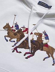 Polo Ralph Lauren - Fleece Hoodie - hættetrøjer - white - 2