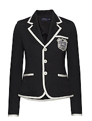 Crest French Terry Blazer - POLO BLACK
