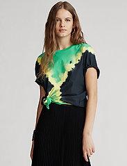 Polo Ralph Lauren - Big Fit Tie-Dye Tee - t-shirts - stem/polo black m - 0