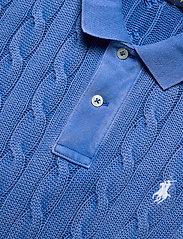 Polo Ralph Lauren - Cable-Knit Polo Shirt - polohemden - keel blue - 2