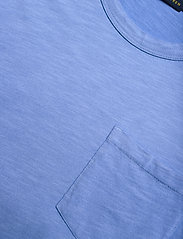 Polo Ralph Lauren - 20/1 UNEVEN CTN JRS-SSL-CSD - midi dresses - harbor island blu - 2