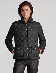 Polo Ralph Lauren - Cropped Barn Jacket - quilted jackets - polo black - 0